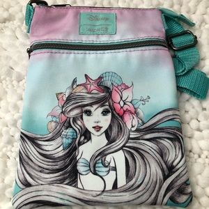 Loungefly Little Mermaid Crossbody Passport